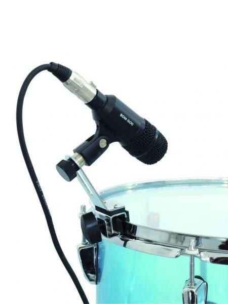 DIMAVERY Mikrofonipidike rummuille, Microphone holder for drums MDM-1