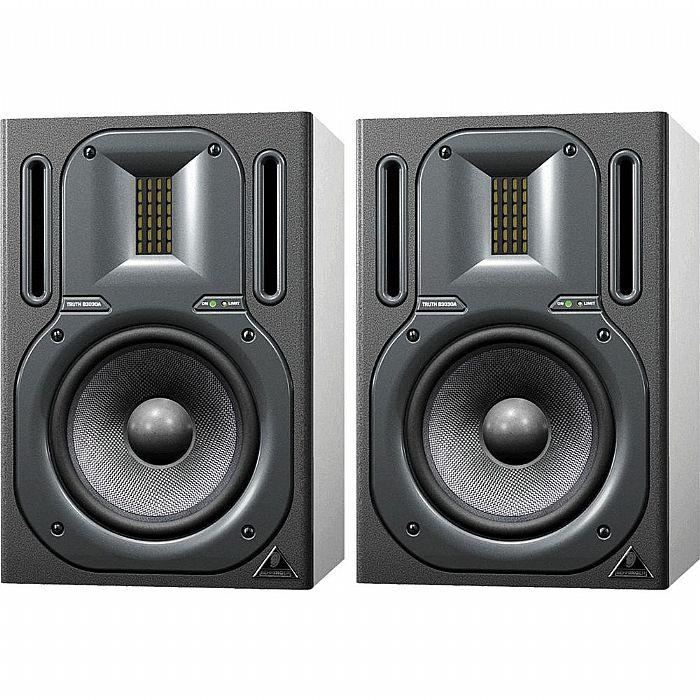 BEHRINGER TRUTH B3030A Aktiivi monitori pari 2-Way Active Ribbon Studio Reference Monitor with Kevlar Woofer, pair