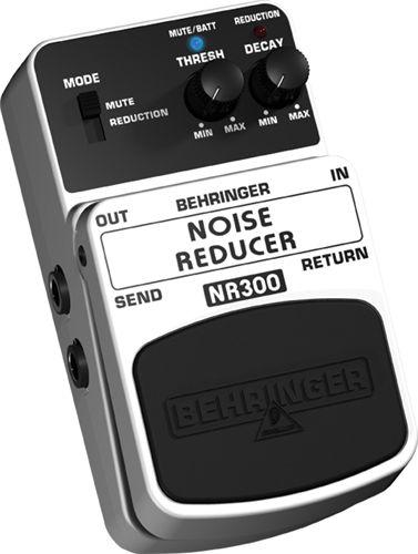 BEHRINGER NOISE REDUCER NR300 Efektipedaali, kohinanvähennys, Ultimate Noise Reduction Effects Pedal