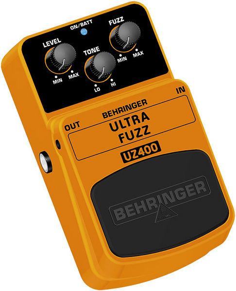 BEHRINGER ULTRA FUZZ UZ400, Classic Fuzz Distortion Effects Pedal