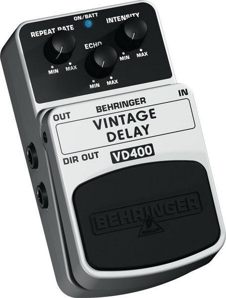 BEHRINGER VINTAGE DELAY VD400, Vintage A, discoland.fi