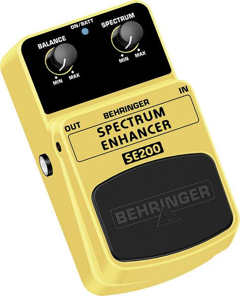 BEHRINGER SPECTRUM ENHANCER SE200, Sound Enhancement Effects Pedal