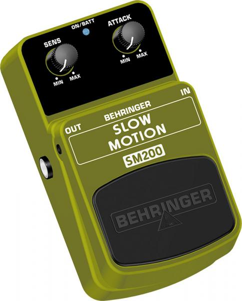 BEHRINGER SLOW MOTION SM200, Classic Attack Effects Pedal