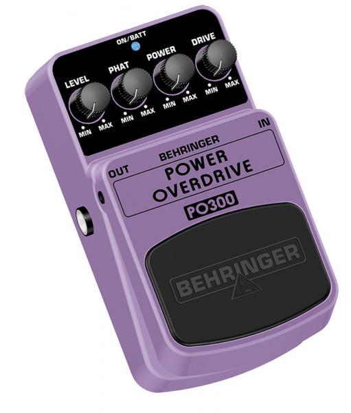 BEHRINGER POWER OVERDRIVE PO300, Ultimate Power Overdrive Effects Pedal