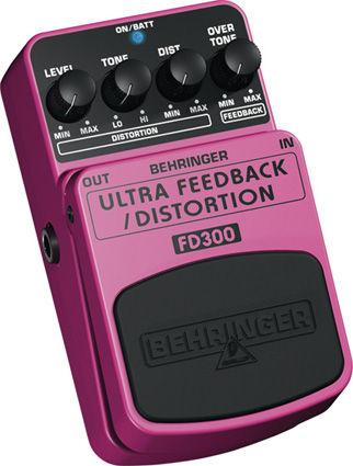 BEHRINGER ULTRA FEEDBACK/DISTORTION FD30, discoland.fi