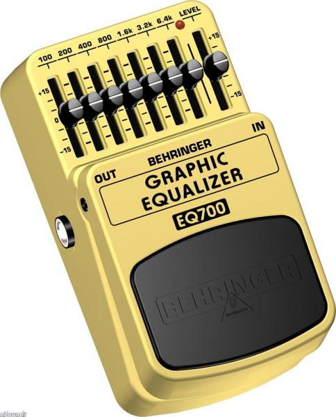 BEHRINGER GRAPHIC EQUALIZER EQ700, Ultimate 7-Band Graphic Equalizer