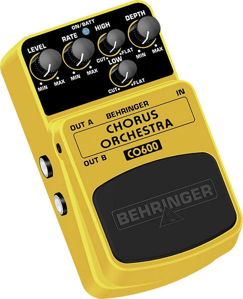 BEHRINGER CHORUS ORCHESTRA CO600, Ultimate Stereo Chorus Effects Pedal