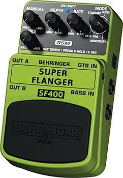 BEHRINGER SUPER FLANGER SF400, Ultimate Flanger Effects Pedal