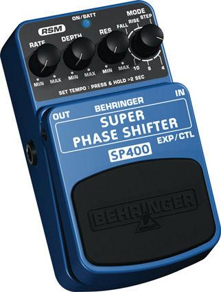BEHRINGER SUPER PHASE SHIFTER SP400, Ultimate Phase Shifter Effects Pedal