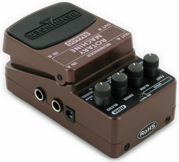 BEHRINGER ROTARY MACHINE RM600, Ultimate Rotary Speaker Modeling Effects Pedal
