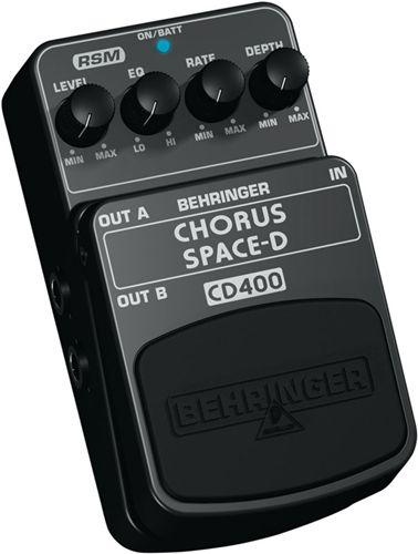 BEHRINGER CHORUS SPACE-D CD400, Digital , discoland.fi