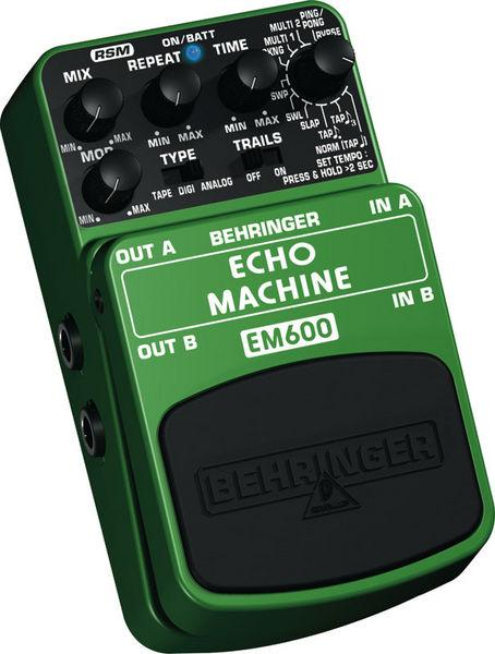 BEHRINGER ECHO MACHINE EM600, Ultimate E, discoland.fi