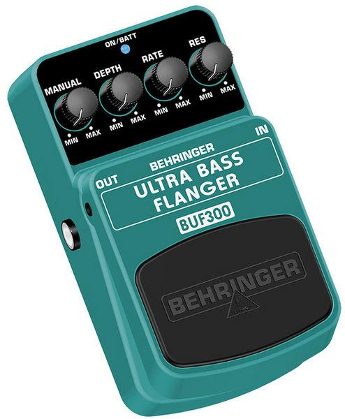 BEHRINGER ULTRA BASS FLANGER BUF300, Ultimate Bass Flanger Effects Pedal