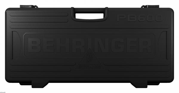 BEHRINGER PEDAL BOARD PB600, Universal Effects Pedal Floor Board with 9 V DC Power Supply and Patch Cables