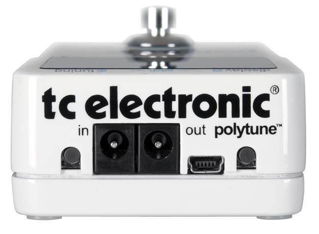 TCELECTRONIC PolyTune 2, Maailman ensimmäinen Polyfoninen viritysmittari!Ennen virittäminen oli välttämätön riesa, vaiva joka piti nähdä kitaran säätämiseksi ennen kuin pääsi soittamaan. Se oli ennen. Nyt viritys on lopultakin päässyt 21. vuosisadalle, kiitos TC Electronicin pienen ihmeen, efektipolkimen kokoisen PolyTuneTM:n, joka ei ole kuin muut viritysmittarit. PolyTune TM on maailman ensimmäinen polyfoninen viritysmittari, joka muuttaa virittämisen sellaisena kuin me sen olemme tunteneet, ikiajoiksi.Tulevaisuuden kitaristit tulevat ihmettelemään, kuinka ennen jaksoimmekaan säätää kieli kerrallaan.