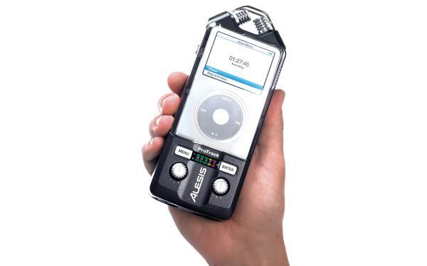 ALESIS ProTrack, Kannettava digitaalitallennin iPod:lle!