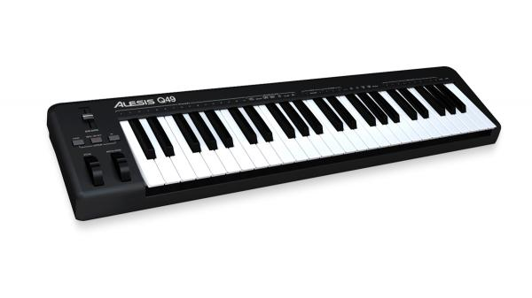 ALESIS Q49, 49-Key USB/MIDI Keyboard Con, discoland.fi