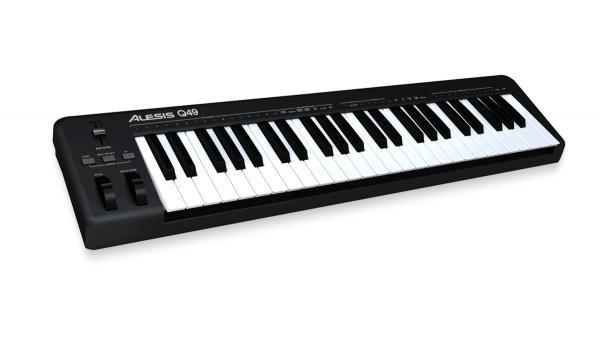 ALESIS Q49, 49- koskettiminen MIDI /USB , discoland.fi