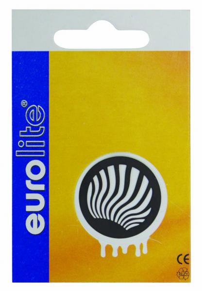 EUROLITE Gobo 25/20mm metal, design 28, discoland.fi