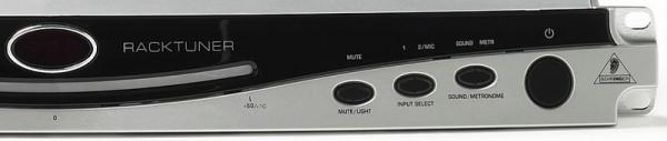 BEHRINGER Ultra-Flexible, Auto-Chromatic 2-Channel Tuner with Metronome and Integrated Racklight, Räkkiviritin metronomilla
