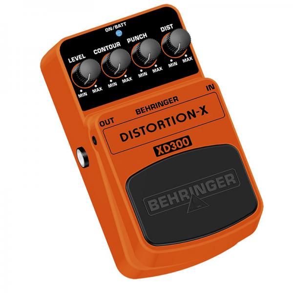 BEHRINGER DISTORTION-X XD300, Thrash Metal Distortion Effects Pedal