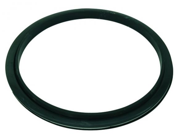 DIMAVERY Bass Drum Hole, Black Plated
