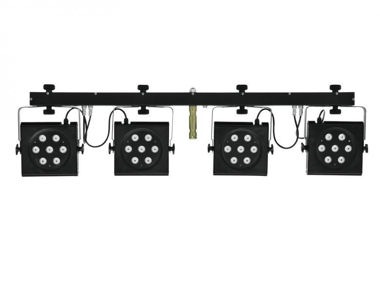 EUROLITE LED KLS-801 TCL DMX 4 spotin va, discoland.fi