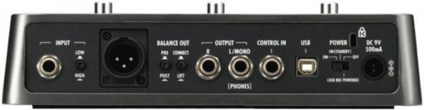 ZOOM G3 Multiefektipedaali-audiointerface USB-väylä, Rumpukone, vaihtoehtoinen XLR-ulostulo linjasoittoa varten. Uusi neljännen sukupolven ZFX-DSP antaa voimaa uudelle G3-multiefektille, joka on fyysisesti kuin kolme erillispedaalia liitettynä yhteen: jokaiselle on oma näyttönsä ja säätimensä.Zoomin G3 yhdistää helposti stompboxit, efektit, ja vahvistinmallinteet. Sen kolme suurta LCD näyttöä ja jalkakytkintä luo graafisen käyttöliittymän, jonka avulla voit hyödyntää ja käsitellä jopa kolmea vahvistinta, tai stompbox efektejä milloin tahansa. Käytä G3:n tarkkaa vahvistinmallinnusta ja yli 100 käsityönä sisäänrakennettua efektiä. Lisäksi laite tarjoaa 100 omaa muistipaikkaa.