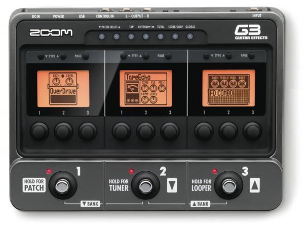 ZOOM G3 Multiefektipedaali-audiointerfac, discoland.fi