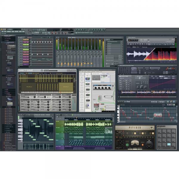 IMAGELINE FL STUDIO Fruity Edition 12, erinomainen softa elektronisen musiikin tuottamiseen. FL Studio (aiemmin Fruity Loops) on Image-Line Softwaren kehittämä pattern-pohjainen musiikkisekvensseri, jossa kappaleet luodaan osista (pattern) käyttäen Step Sequencer- ja Piano Roll -työkaluja. FL Studio on tunnettu edullisena Windows-pohjaisena alustana muun muassa hip hopin ja monenlaisen elektronisen musiikin tuottamiseen. Avicii, Oliver Heldens, Martin Garrix, Afrojack, kuuluvat ohjelman ahkeriin käyttäjiin. FL Studiosta on saatavilla useita eri hintaisia julkaisuja, joista monipuolisin sisältää tarpeeksi työkaluja lähes minkälaisen tahansa musiikin tuottamiseen. FL Studio toimii myös VST-plugarina, jolloin ohjelma muuttuu lähes minkä tahansa DAW-työaseman virtuaalisyntetisaattoriksi. Ohjelmaan on tarjolla myös sample-levyjä ja päivityspaketteja.