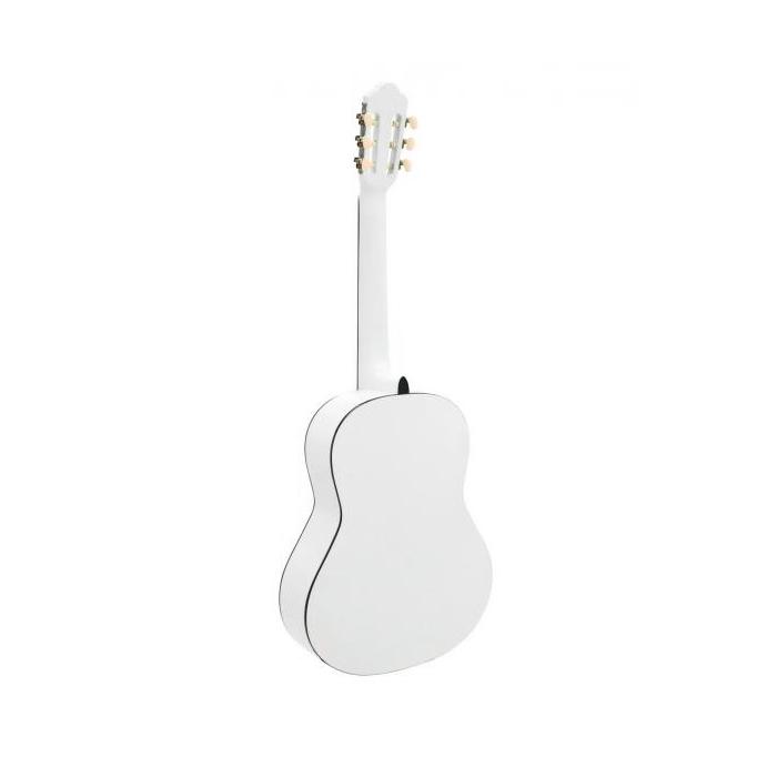 DIMAVERY AC-303 Klassinen akustinen nylonkielinen kitara 4/4, valkoinen