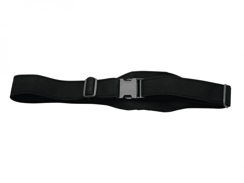 OMNITRONIC Taskulähetin Bodypack-vyö langattoman lähettimelle tai vastaanottimelle esimerkiksi aerobic käytöön, juontajille. Todella näppärä vyötärömalli.