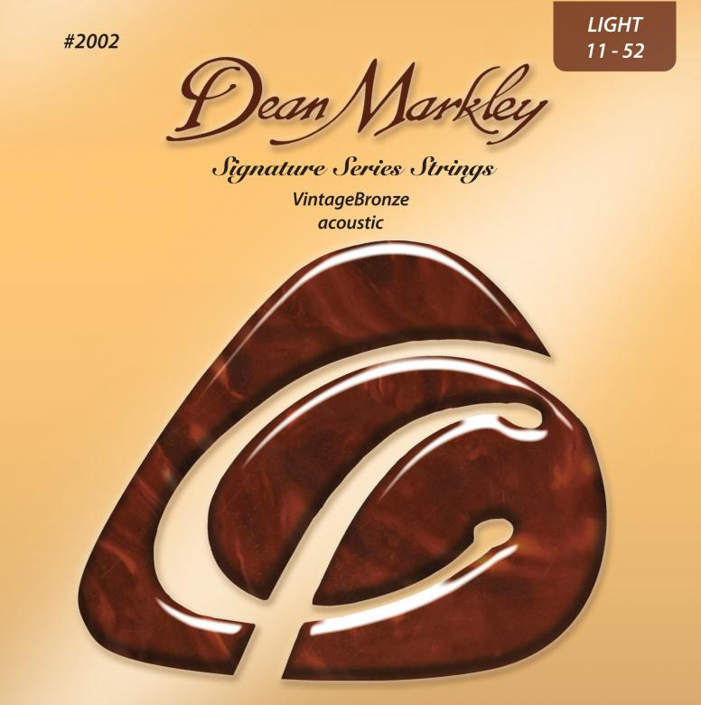 POISTO Dean Markley 2002A BRONZE light teräskielet akustiseen  011, 014, 022, 030, 036, 046, tehty 85% kuparista ja 15% sinkistä! Tried and true, with long-lasting tone...