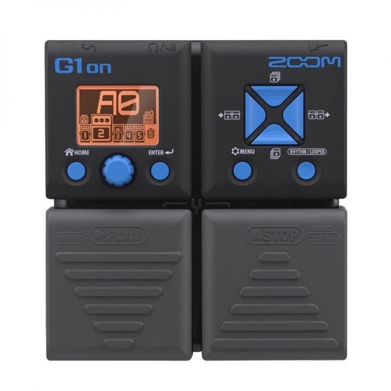 ZOOM G1on kitara-moniefektilaite 75 kitaraefektiä 30 sekunnin loop, 100 muistipaikkaa, Integroitu rumpukone, integroitu viritin, USB-liitäntä