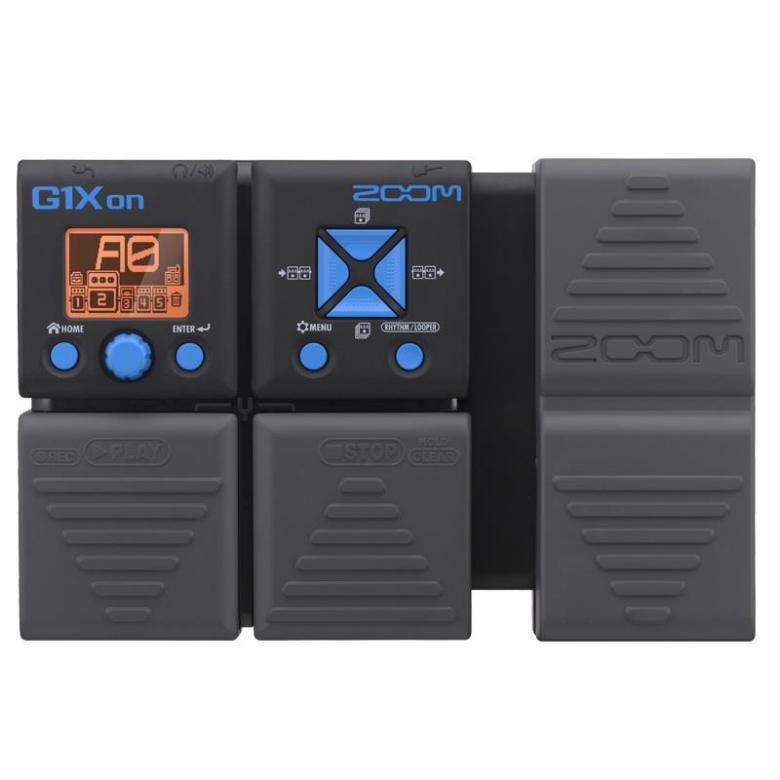 ZOOM G1Xon kitara-moniefektilaite 75 kitaraefektiä. 30 sekunnin loop, 100 muistipaikkaa, Integroitu rumpukone, integroitu viritin, USB-liitäntä