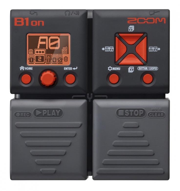 ZOOM B1on, basso-moniefektilaite, 75 bas, discoland.fi