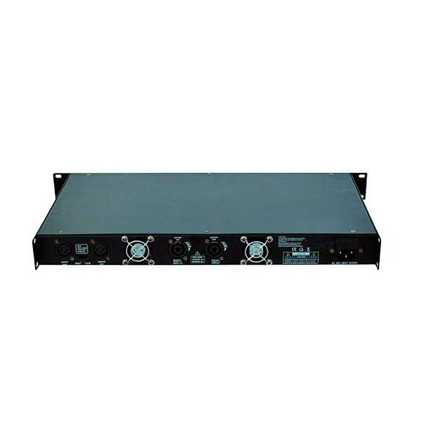OMNITRONIC EDP-300 päätevahvistin 2x 180W 4ohms. Class D amplifier. Stereo PA amplifier with integrated SMPS