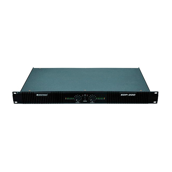 OMNITRONIC EDP-300 päätevahvistin 2x 1, discoland.fi