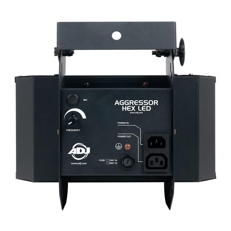 ADJ Aggressor HEX LED-valoefekti, 2x12W (RGBCAW)