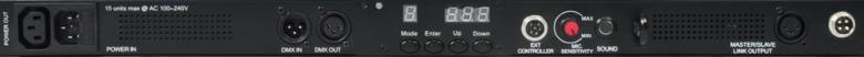 BEAMZ PRO LCB-384 Color LED-palkki 24 lohkoa 12 osastoa 384 RGB LEDiä 53°/27°. Tässä 4-kanavaisessa DMX LED tangossa on 384 värillistä LEDiä (RGB) ja se on suunniteltu moniin käyttötarkoituksiin. Tässä laitteessa on mahdollisuus staattisiin väreihin, stroboon, himmentimeen ja värien sekoitukseen. 23 sisäänrakennettua ohjelmaa, useita eri käyttömoodeja sekä säädettävä nopeus. Tällä laitteella voi luoda välkkyvän ja värikkään valoshown.Valon aukeamiskulma 53° x 27°. Mitat 965 x 90 x 120mm sekä paino 2.5kg.