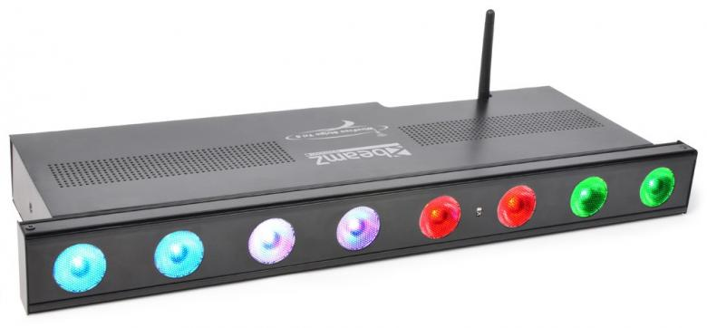 BEAMZ Langaton DMX LED-tanko, Wi-Bar 8x , discoland.fi