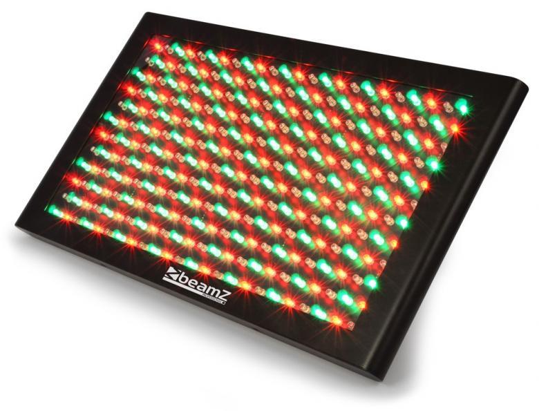 BEAMZ LCP-288 LED paneeli 288 RGB 5mm Le, discoland.fi