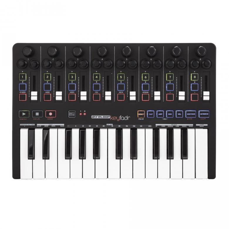 RELOOP KEYFADR MIDI DAW-ohjain kontrolle, discoland.fi