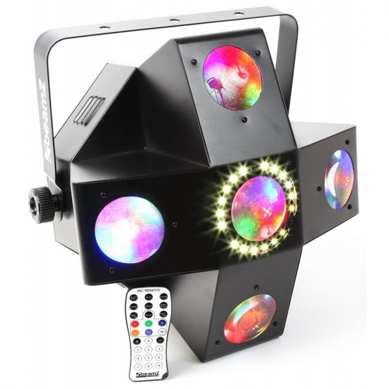 BEAMZ MultiTrix LED RGBAW DMX LED valo-e, discoland.fi