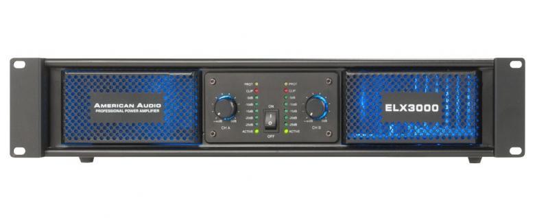 AMERICANAUDIO ELX3000 500W 2x 250W RMS A, discoland.fi
