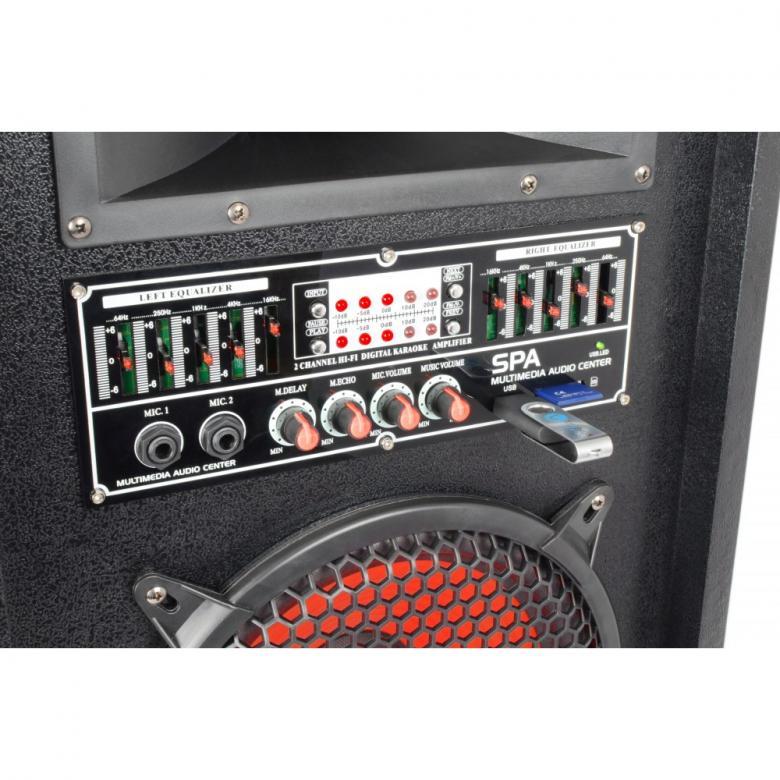 SKYTEC SPA-1000 PA Karaoke Active speaker 10