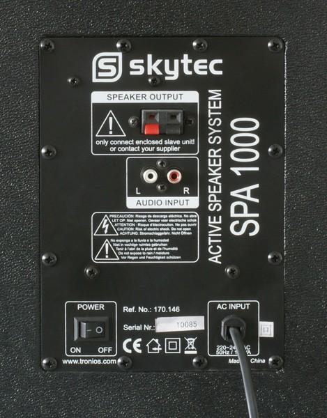 SKYTEC SPA-1000 PA Karaoke Active speaker 10