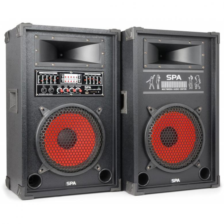 SKYTEC SPA-1000 PA Karaoke Active speake, discoland.fi