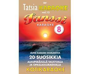 TATSIA Kotikaraoke Vol 15 Tanssi 8 - DVD, discoland.fi