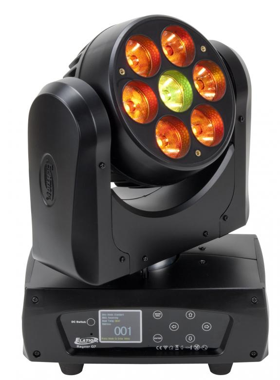 ELATION Rayzor Q7 LED Moving head 7� Osr, discoland.fi